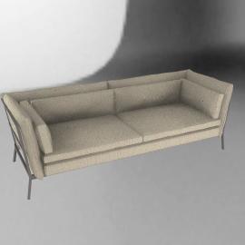 Cappellini Basket 011 Three Seater Sofa
