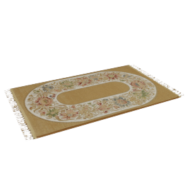 Prayer Mat - 70x120 cms, Gold