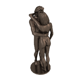The Kiss Bronze Sculpture