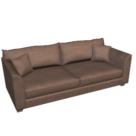 Apartment Grand Sofa, Espresso