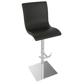 Bellini Bar Stool, Black