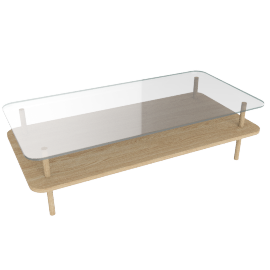 Unison Rectangular Coffee Table