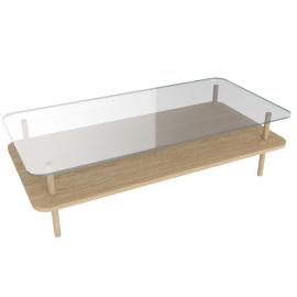 Unison Rectangular Coffee Table
