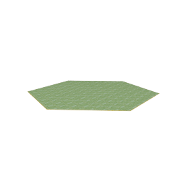 Hexagon Green