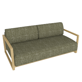 Mercer Sofa Bed, Stanton Putty