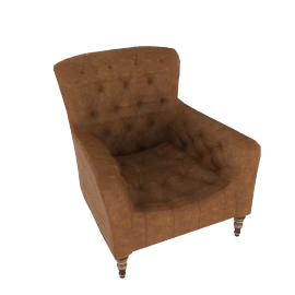 STIRLING ARMCHAIR, Ranch Tan