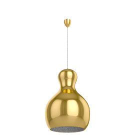 Lightyears Calabash P3, gold chrome