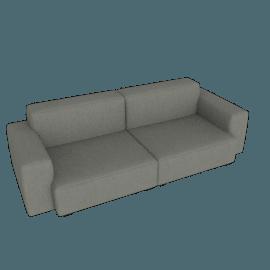 Mags Soft Low 2.5 - Seater Sofa, Linara - Tweed