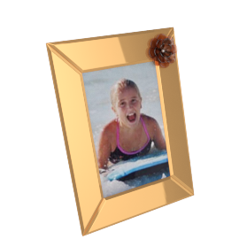 Clarabelle Photo Frame - 5x7 inches