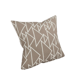 "Girard Pillows in One Way , Taupe - 17"" x 17"""