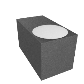 IP44.de Como wall light, anthracite