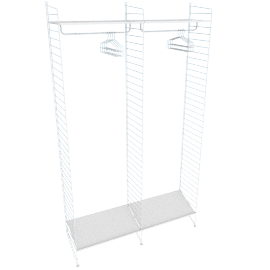 String Simple Closet - 2 Bay 24''