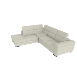 Raymond Left Corner 5-Seater Sofa Set