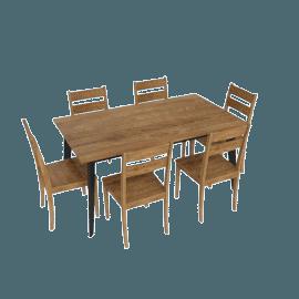 Nomos 7-Piece Dining Set