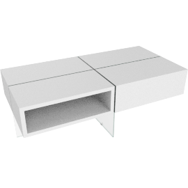 Sierra Coffee Table, HG White