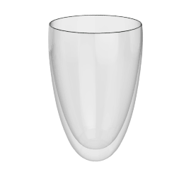LSA Barrel Vase, H20cm