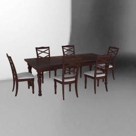 Juego de Comedor Porter 6 sillas