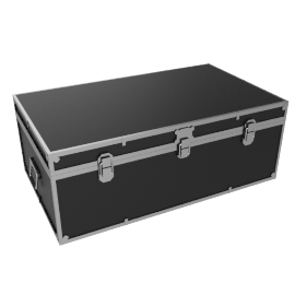 Fortified Storer Trunk, Black