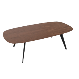 Solapa Coffee Hign Table, Walnut