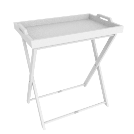 Vassoio Tray Table, White