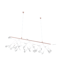 Heracleum Endless Pendant, Copper
