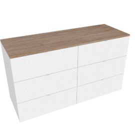Monza 6-drawer Dresser