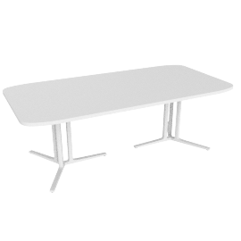 Everywhere Conference Table, White