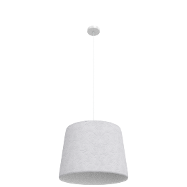 Rose Pendant Lamp, White