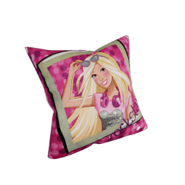 Mattel Barbie Cushion Cover - 45x45 cms