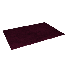 Indulgence Reversible Bath Mat - 60x90 cms, Purple