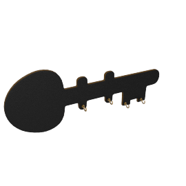 Chalkboard Key Hooks with Small Box Chalk