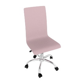 Madison Desk Chair, Pink