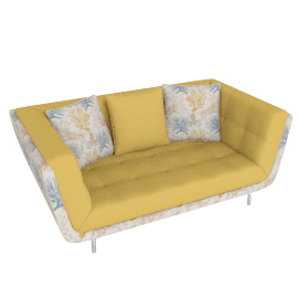 Cyprus 2 Seater Yellow