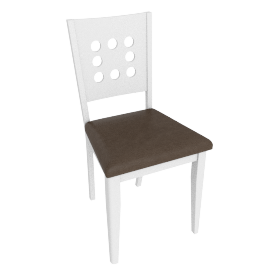 Bristol Dining Chair, White