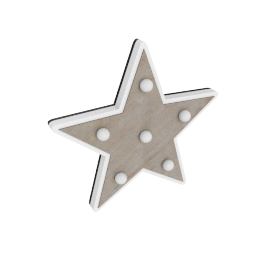 Eli Star Wall Light