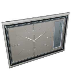 Karen LCD Digital Wall Clock