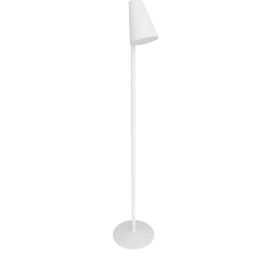 Lirio Piculet floor lamp, white