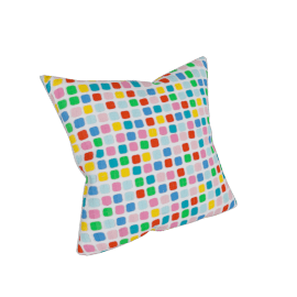 Pop Filled Cushion - 45x45 cms