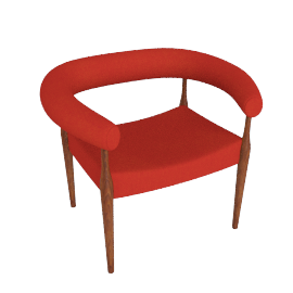 Ring Chair, Orange