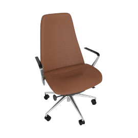 Taper Chair, Aluminum/Cobblestone