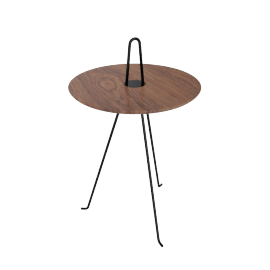 Tipi Low Table, Walnut