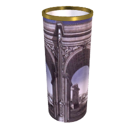 arco romano cylinder umbrella stands by fornasetti