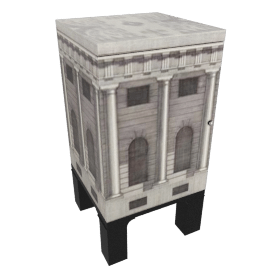 architecture, night stand by fornasetti