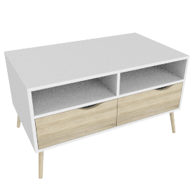 DELTA TV-UNIT 2 DRAWERS by tvilum