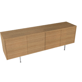 Sussex Credenza - Walnut