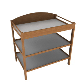 Winnipeg Changing Table, Natural
