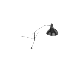 Mantis BS2 Wall Lamp, Black