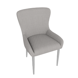 Claire Dining Chair, Grey