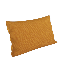 Maharam Pillow in Lanalux 11'' x 21'', Umber