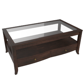 Morocco Coffee Table, Brown